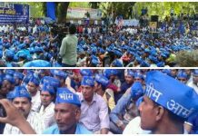 Bhima Army's big demonstration on Jantar-Mantar, many veterans supported
