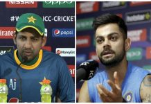 the war of the Word started between indian and pakistan captan before the cricket match