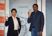 Sachin Tendulkar launches first SRT smart phone
