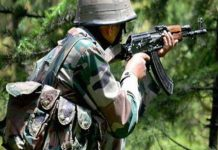 indian army destroyed 2 checkpoints and 7 soldiers