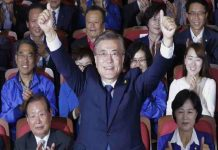 North Korean refugee Moon Jae-in become South Korea president