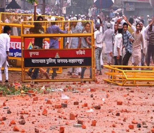 First there was a clash between Hindus and Muslims in Muzaffarnagar and Saharanpur, and now its getting in between Rajputs and Dalits.