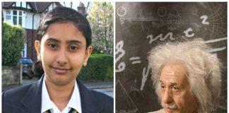 Indian origin daughter Rajgauri overtook Einstein in IQ Test