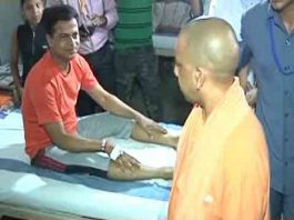 CM Yogi in Varanasi: After Philosophy of Kalbhairav, inspection of hospital