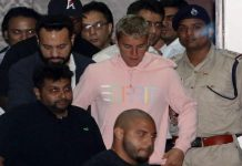 Live Concert of Justin Beber in Mumbai today