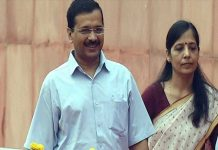 Arvind Kejriwal & Sunita Kejriwaal