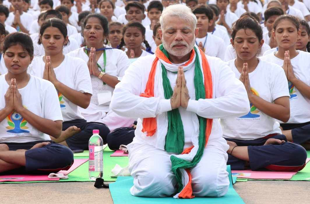 on Yoga Day, India will break own record