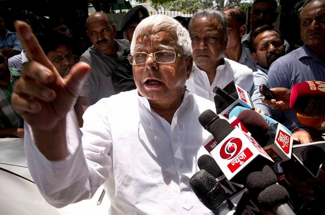 Lalu flair on journalism question