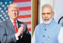 Narender Modi and Trump