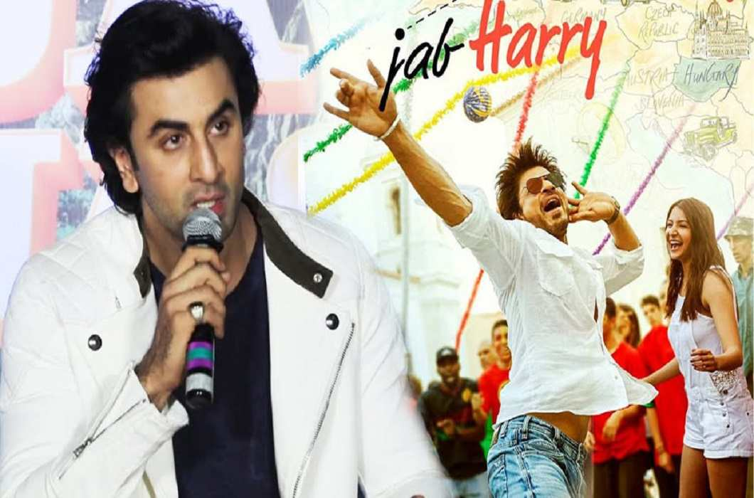 Shah Rukh gives Ranbir 6000 rupees for the title of his film