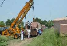 Two trucks of red stone reached Ayodhya for construction of temple