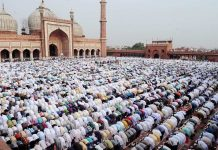 Muslim society will unleash democratic protests on the day of Eid for the people who were being victimised by the crowd