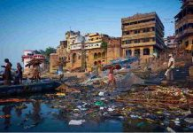 who make the Ganges dirty can be sentenced to 7 years or a fine of 100 crores or both of them can be punished.