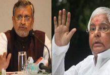 Sushil Modi again exposed to Lalu-Rabri, said - Rabri has 18 flats in Patna