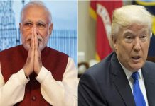 Narender Modi and Donald Trump
