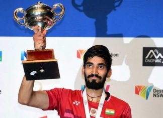 Srikanth created history, became first Indian to win 2 consecutive Super Series