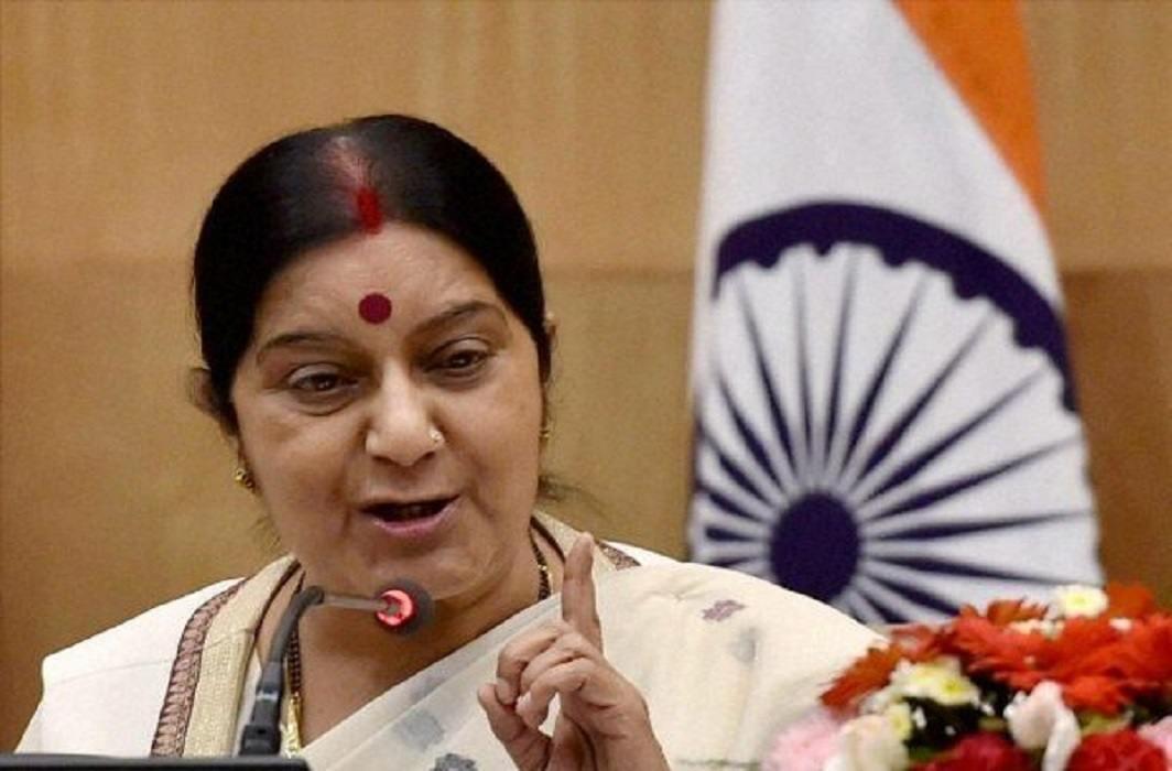 On mars, Forign Ministry will help of stranded people- Sushma Swaraj