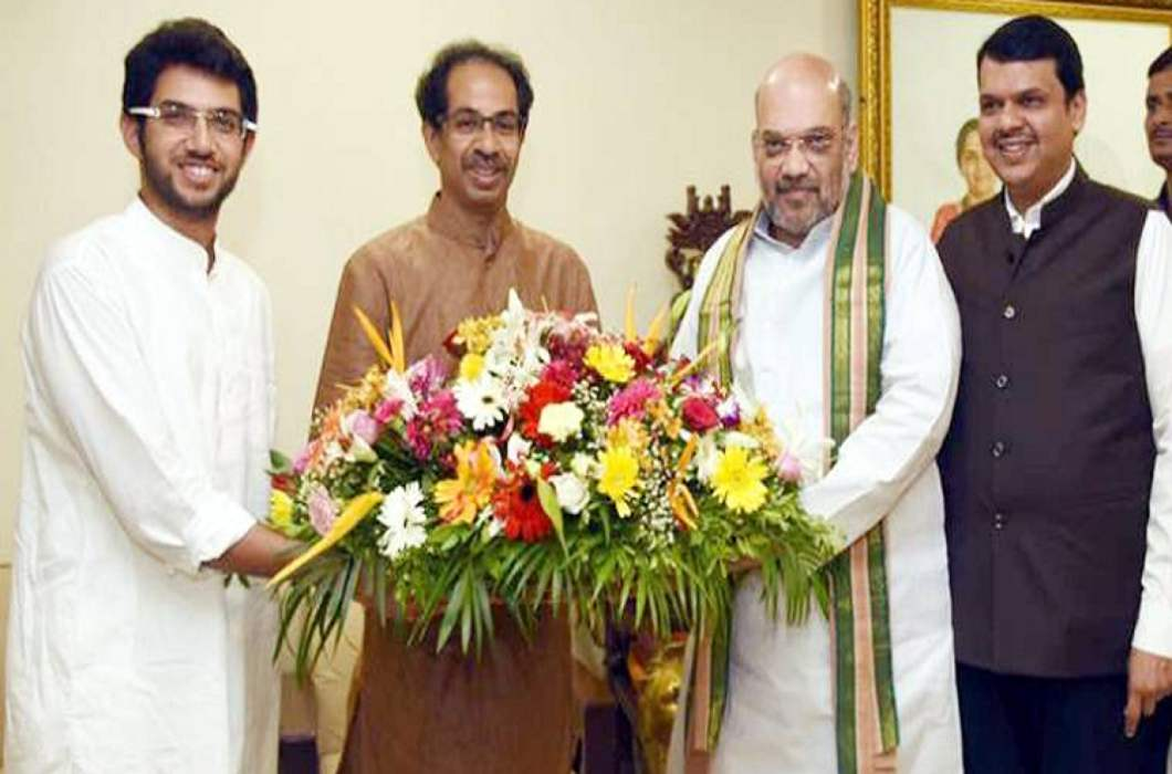 Amit Shah meets from Uddhav Thackeray, discussions on Presidential election