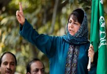 Mehbooba Mufti has raising the issue of change in Article 35 (A)