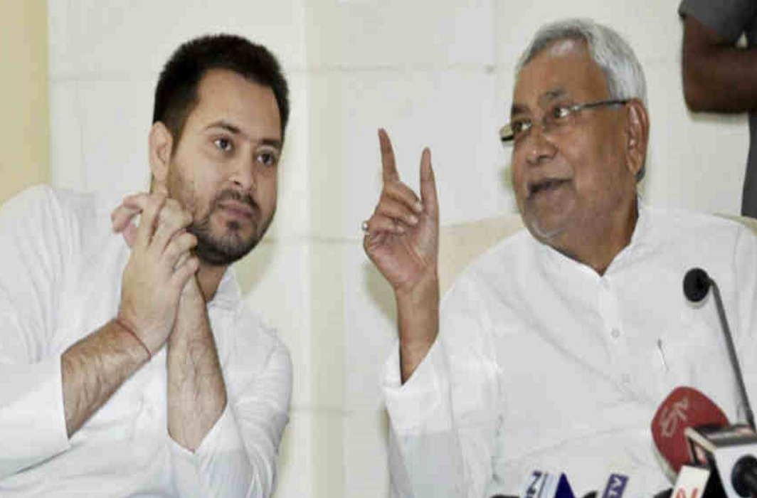 Nitish Kumar and tejaswi yadav