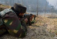 jawan shot dead Army major