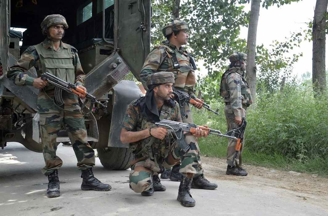 Hizbul's 3 militants killed in Badgam, search operation continue