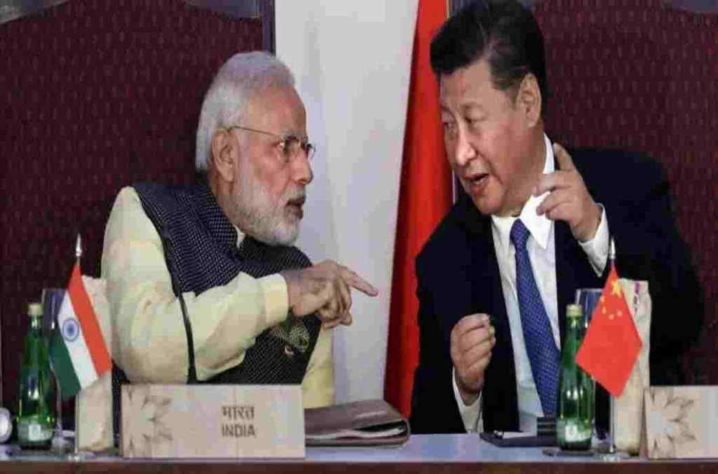 China's PM Modi praised between the troubled borders on the border