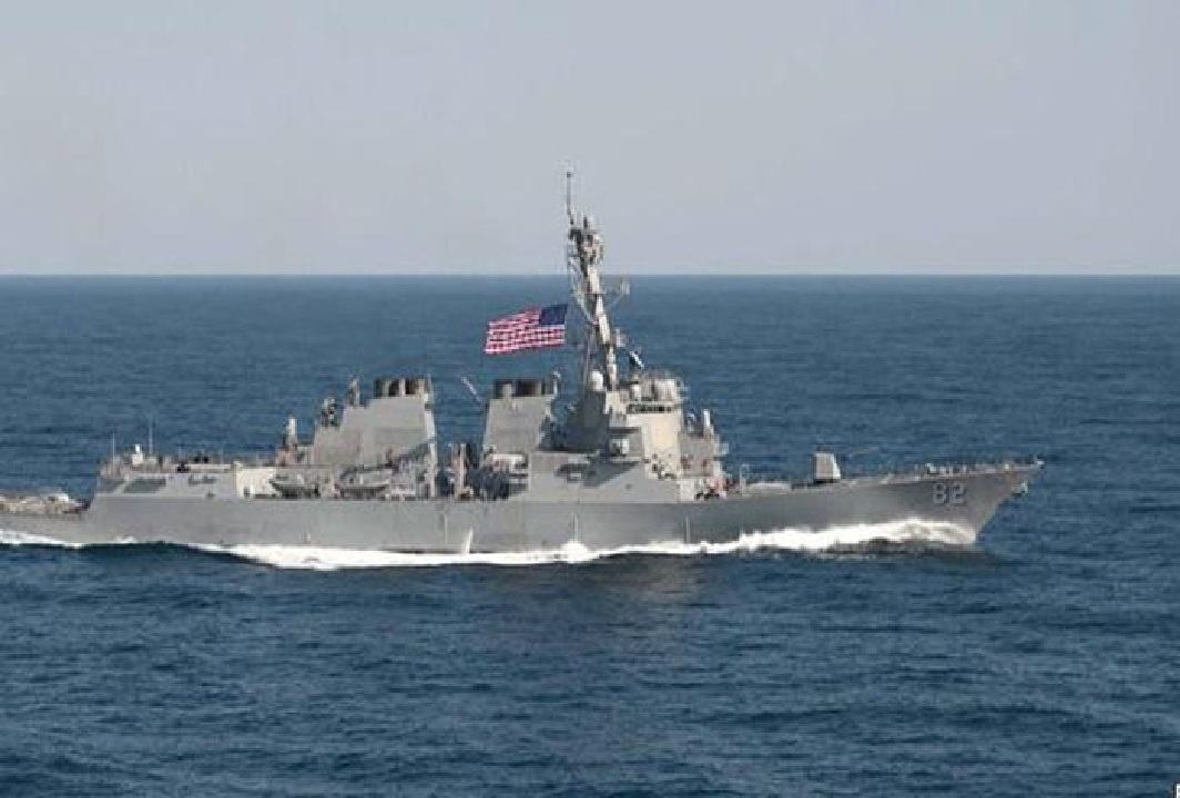 """China was angry to saw the US ship in """"South China Sea"""", china Gave Threat Of war"""