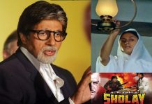 A scene of 'Sholay' was set to shoot at 3 years