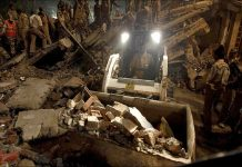 Building collapse in Laxmi nagar