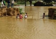 Rainfall in Banda from last many hours has made the people's condition so bad