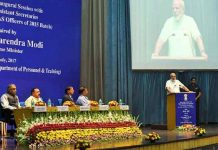 Modi's mantra to IAS officers, Whole system will change Only from courage