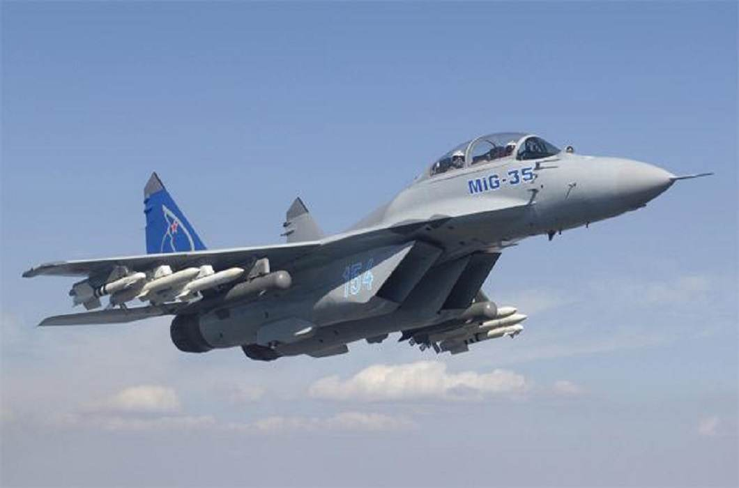 Russia wants to sell its new fighter jet MiG-35 to india