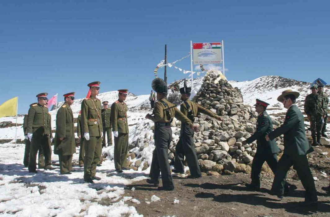 China sent it's army 100 meters backfoot from dhoklam