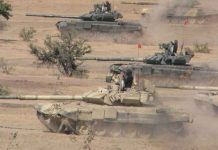 India's tanks breakdown in international competition against china