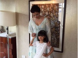 Aishwarya Roy flagged the indian flag with her daughter In melbourne, Said - Jai Hind
