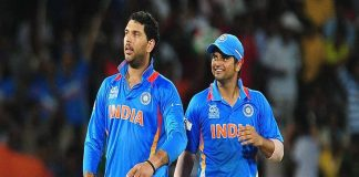 Yuvraj and Raina out of the team due to failing in Yo Yo Test
