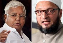 Asaduddin Owaisi extended friendship to Lalu