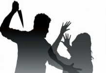 in up man brutally attack on minor girl by sword