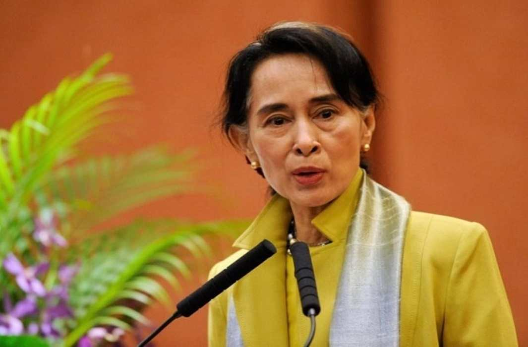 Aung San Suu Kyi says We will tackle the complex challenges of Myanmar