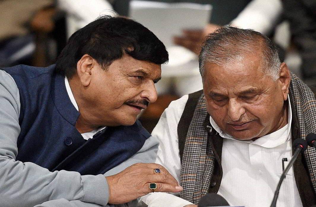 Shivpal Singh Yadav & Mulayam Singh Yadav