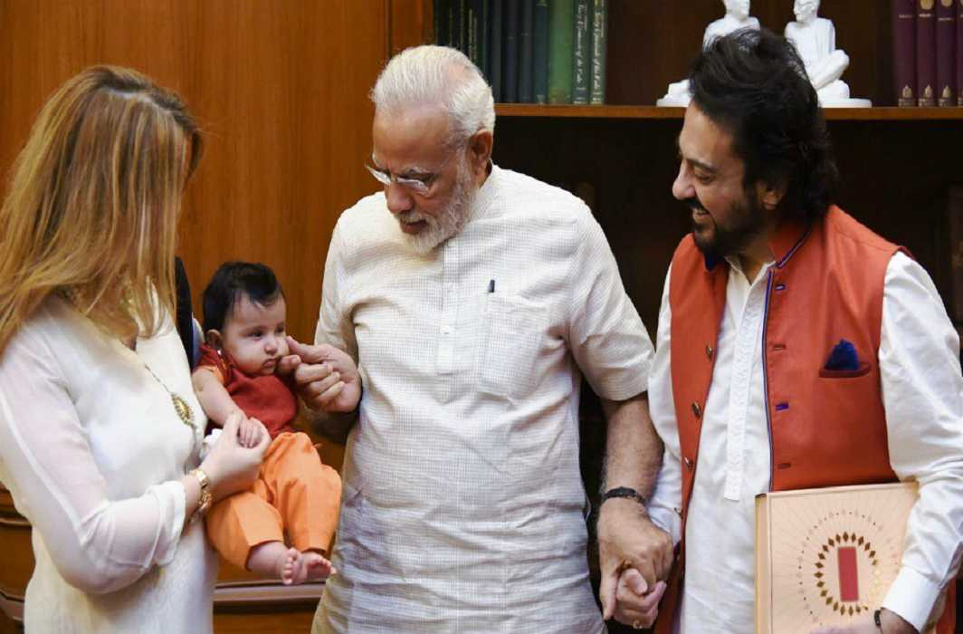 PM Modi welcomes 'Madina'