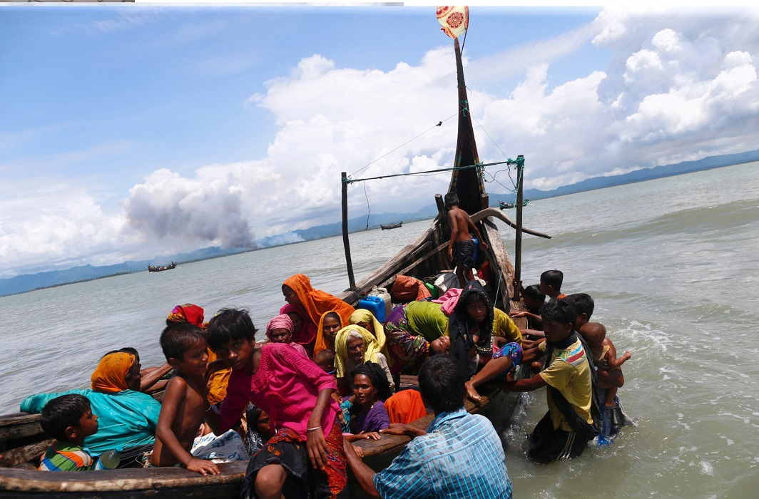 India will send send relief material to Rohingya refugees