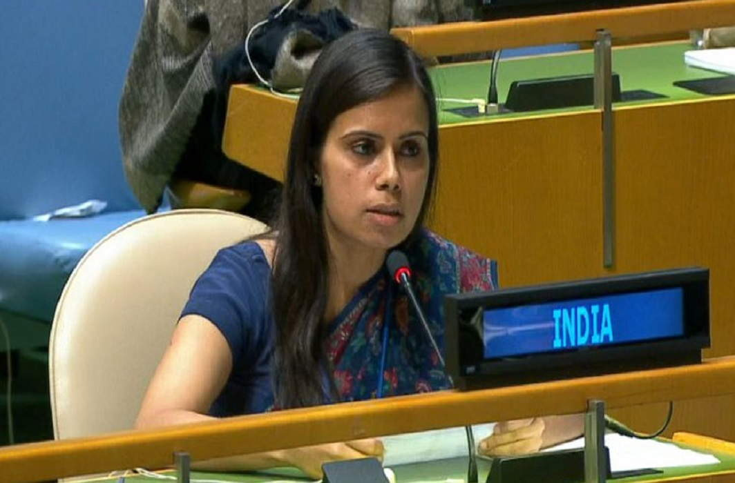 In the United Nations, India named Pakistan as 'Terrorism Territory'