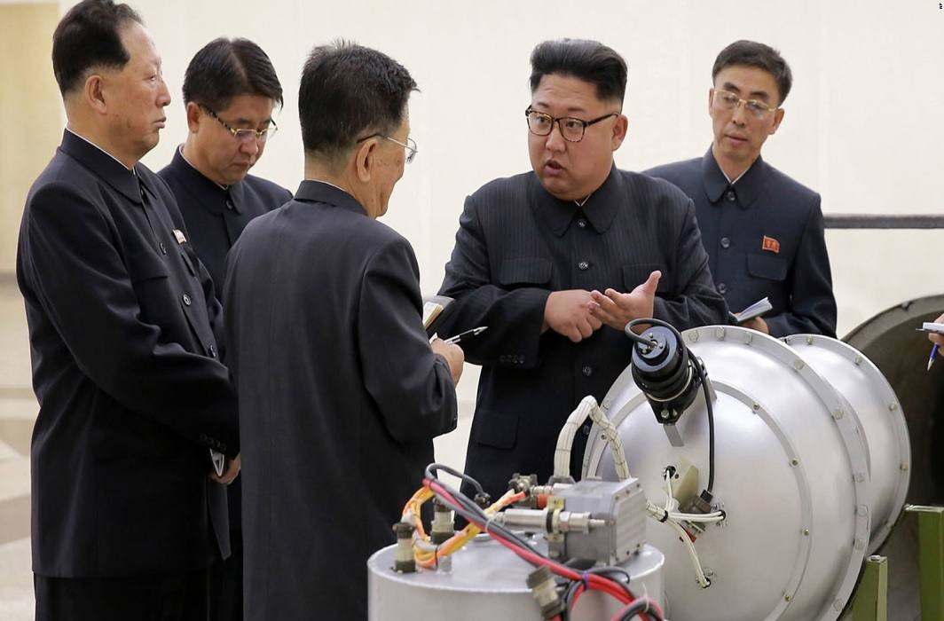 forget America Do not underestimate Our strength : North Korea