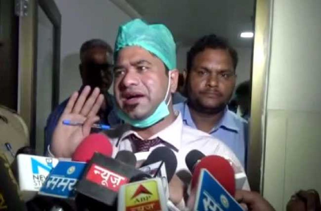 Doctor Kafeel Arrested of BRD medical college at Gorakhpur