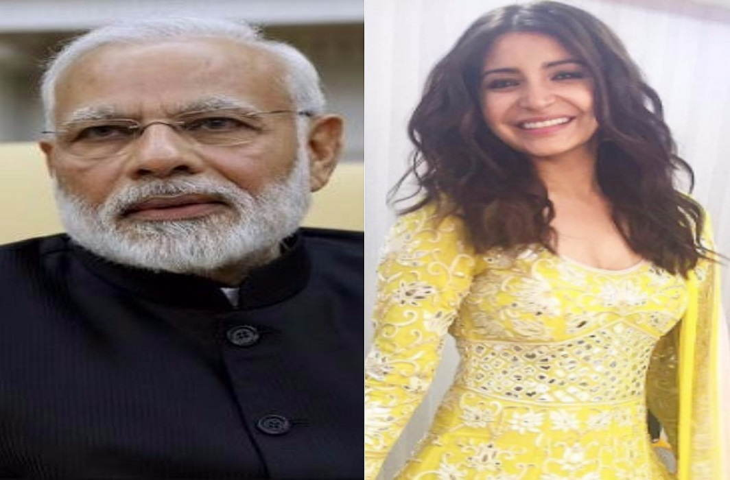 Narendra modi and anushka sharma