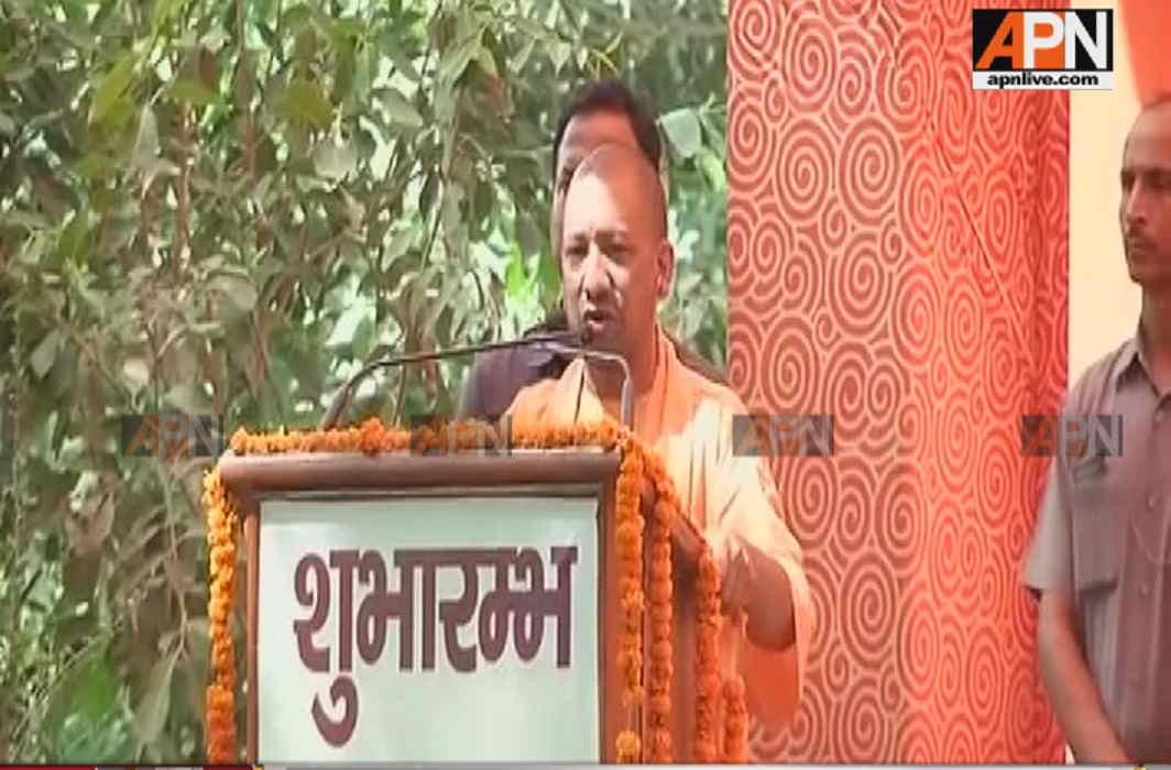 Yogi Adityanath in Vrindavan