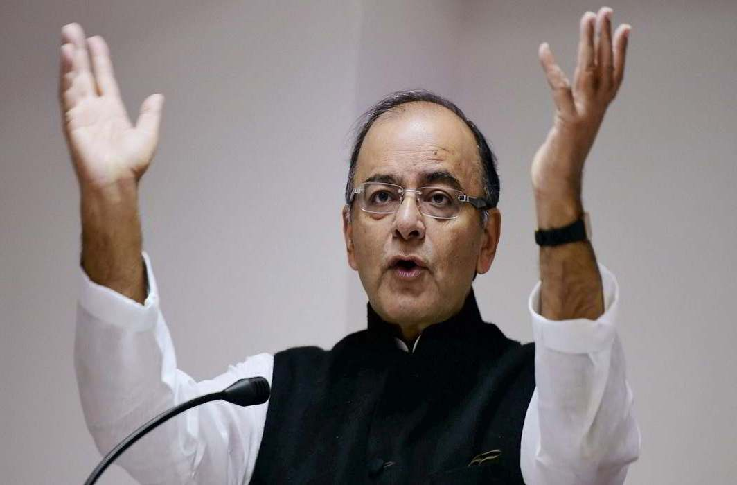 Jaitley gave signal to cut in GST slab said if want development than pay something