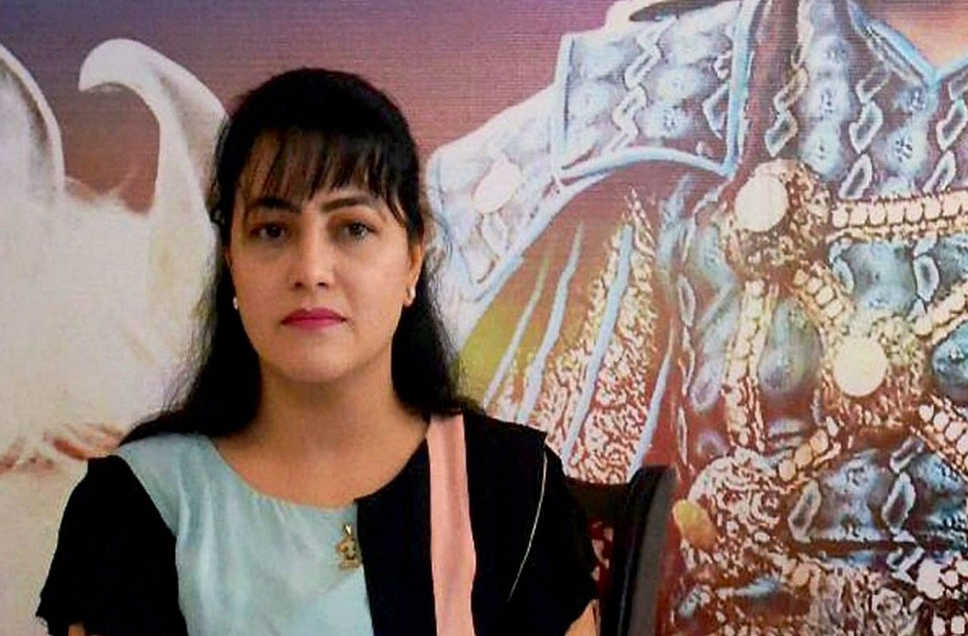 Honeypreet told herself and gurmeet ram rahim completely innocent in front of media